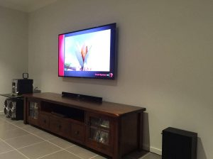 TV hanging in Sydney